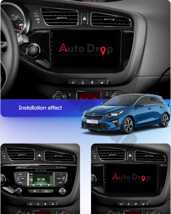 Navigatie Android Kia CEED 2012-2018 | AutoDrop.ro 15