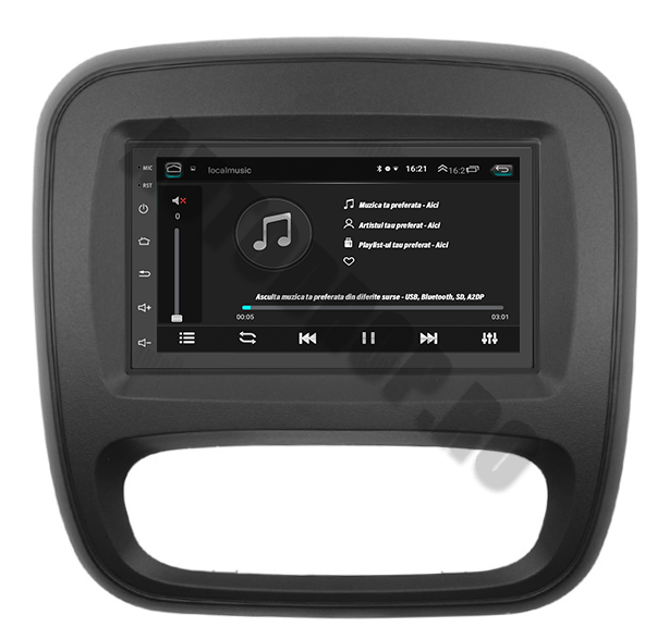 Navigatie Auto Trafic / Vivaro Android 2+32GB | AutoDrop.ro 5