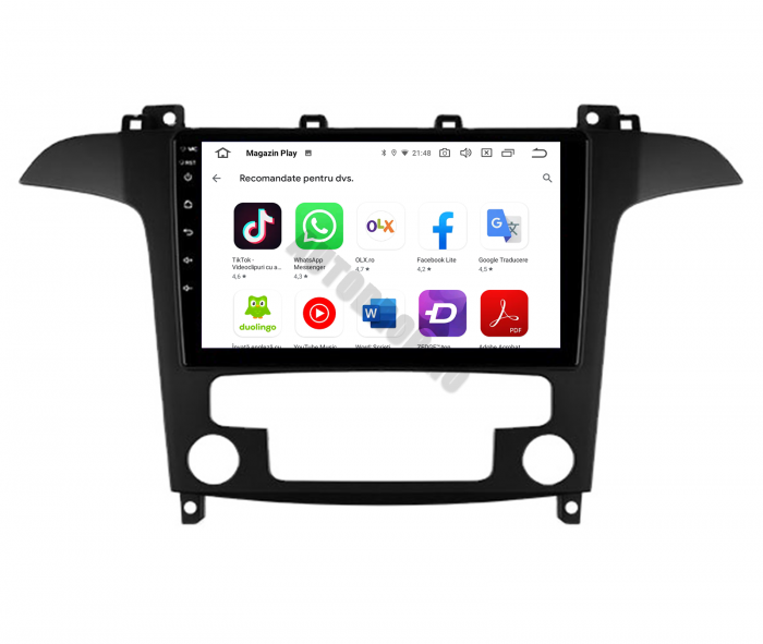 Navigatie Android Ford S-Max 2006-2015 | AutoDrop.ro [7]