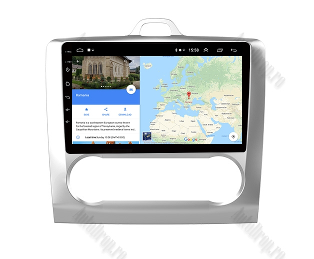 Navigatie Ford Focus MK2 Clima Automata | AutoDrop.ro 8
