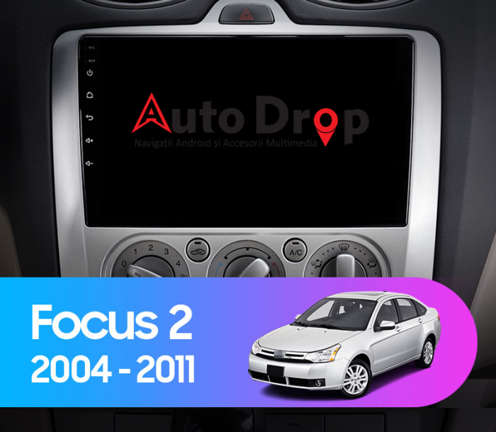 Navigatie Ford Focus MK2 Clima Manuala 2+32   AutoDrop.ro [12]