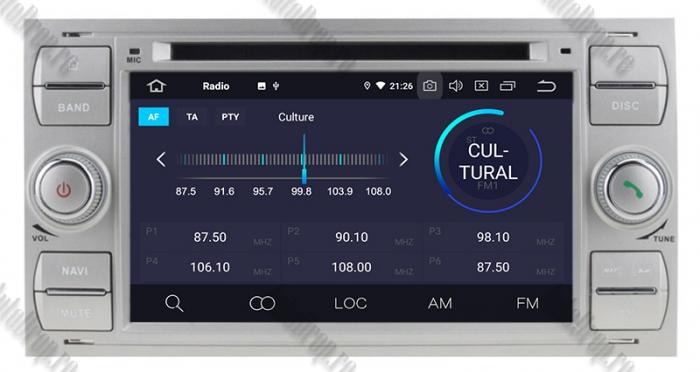 Navigatie Ford, Android, 4GB+64GB | AD-BGWFORDO7P5-S 5