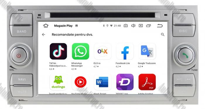 Navigatie Ford, Android, 4GB+64GB | AD-BGWFORDO7P5-S 9