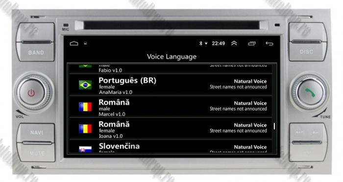 Navigatie Ford, Android, 4GB+64GB | AD-BGWFORDO7P5-S 8