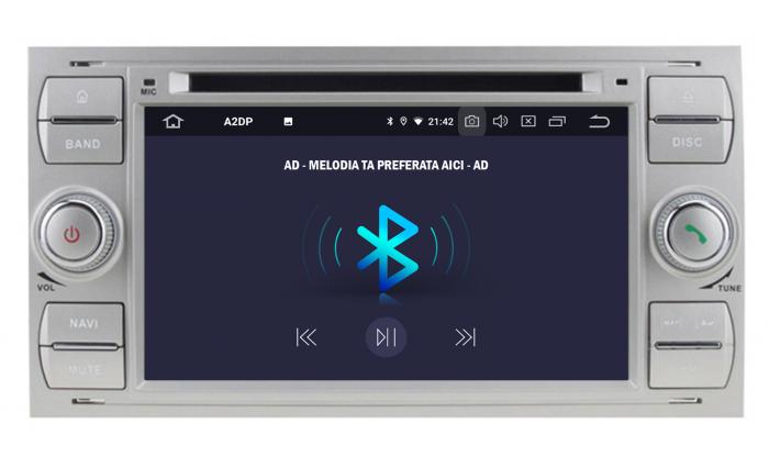 Navigatie Ford, Android, 4GB+64GB | AD-BGWFORDO7P5-S 4