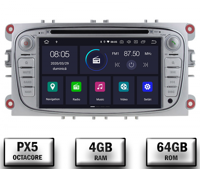 Navigatie GPS Ford Focus/Mondeo/S-max GRI | AutoDrop.ro 0
