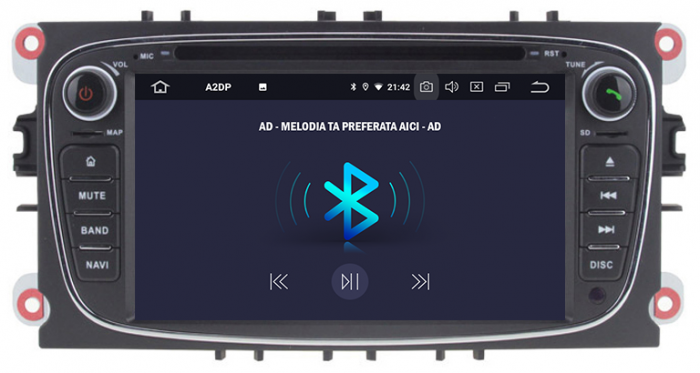 Navigatie Ford Focus/Mondeo/S-max/Transit/Tourneo 24