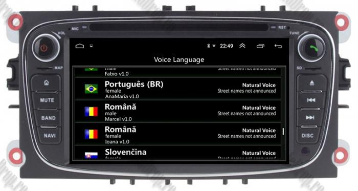Navigatie Ford Focus/Mondeo/S-max/Transit/Tourneo 8