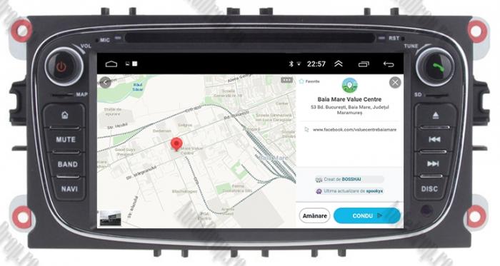 Navigatie Ford Focus/Mondeo/S-max/Transit/Tourneo 13