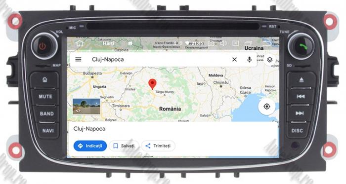 Navigatie Ford Focus/Mondeo/S-max/Transit/Tourneo 12
