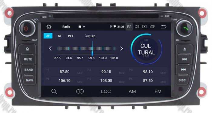 Navigatie Ford Focus/Mondeo/S-max/Transit/Tourneo 5