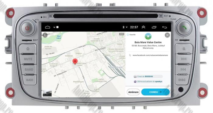 Navigatie Auto Dedicata Ford cu Android | AutoDrop.ro 13