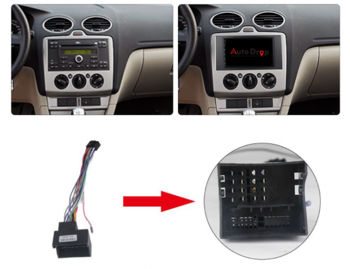 Navigatie Android Ford 2DIN 2+32GB | AutoDrop.ro [14]