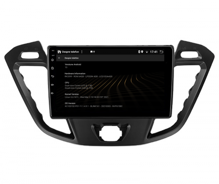Navigatie Android 10 Ford Transit / Tourneo | AutoDrop.ro [14]