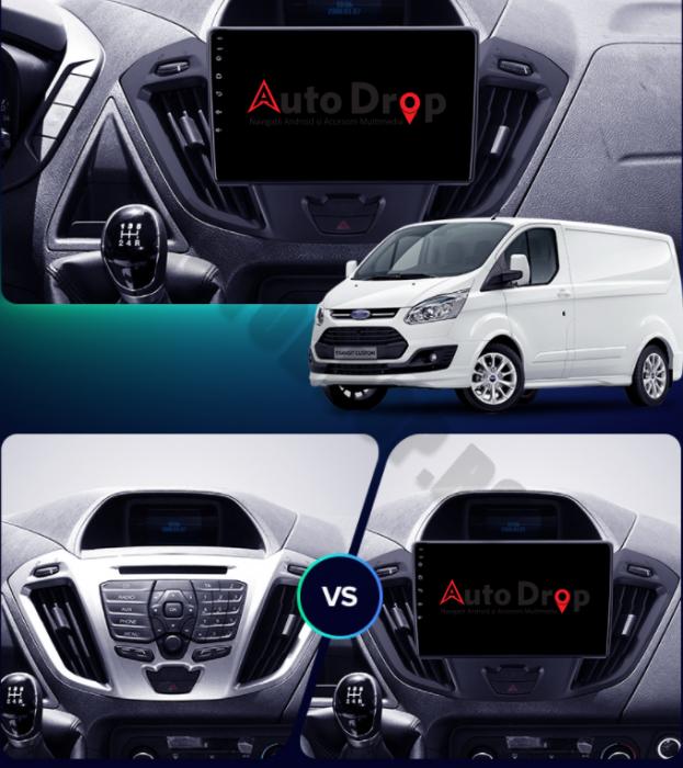 Navigatie Android 10 Ford Transit / Tourneo | AutoDrop.ro [18]