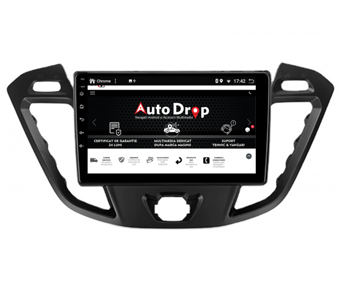 Navigatie Android 10 Ford Transit / Tourneo | AutoDrop.ro [15]