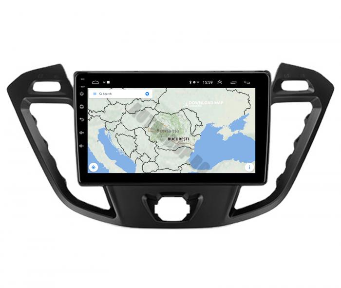 Navigatie Android 10 Ford Transit / Tourneo | AutoDrop.ro [9]