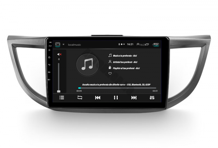 Navigatie Android Honda CRV 2011+ 2GB   AutoDrop.ro 7