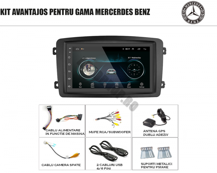 Navigatie Mercedes C-Class, Vito, Viano | AutoDrop.ro 1