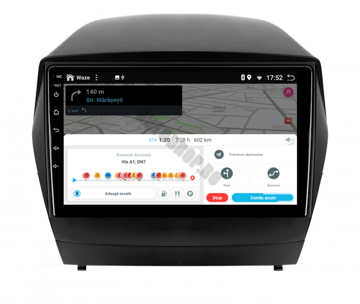 Navigatie Android 10 Hyundai IX35 PX6   AutoDrop.ro [9]