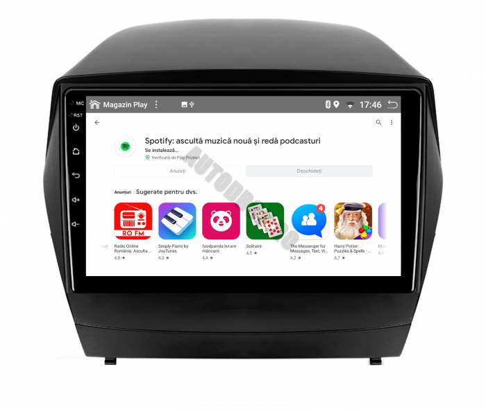Navigatie Android 10 Hyundai IX35 PX6   AutoDrop.ro [11]