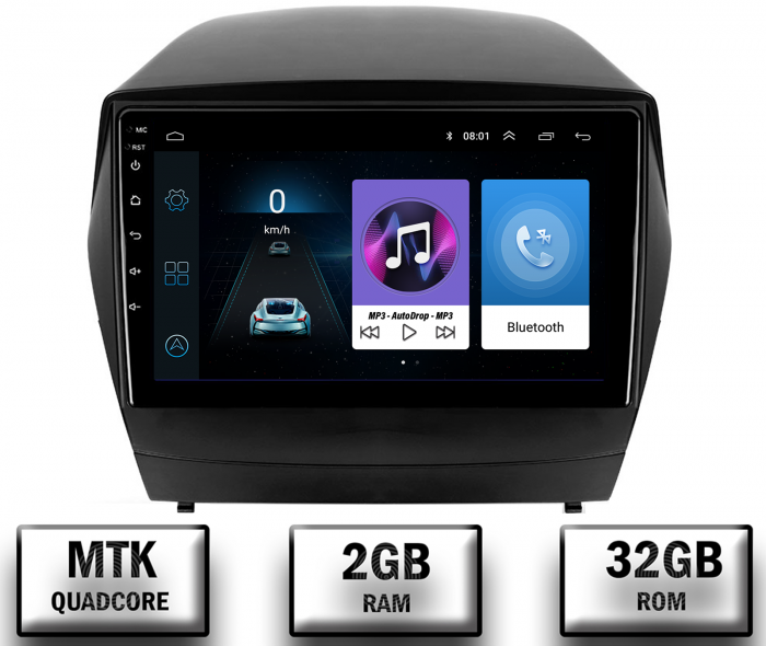Navigatie Android Hyundai IX35 2+32GB   AutoDrop.ro [0]