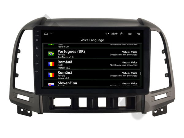 Navigatie Android Hyundai Santa Fe PX6   AutoDrop.ro [7]