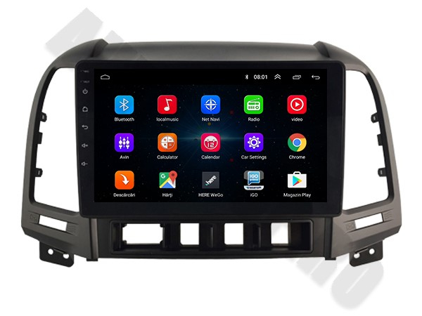 Navigatie Hyundai Santa Fe Android 1+16GB   AutoDrop.ro 2