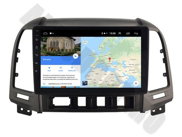 Navigatie Hyundai Santa Fe Android 1+16GB   AutoDrop.ro 9