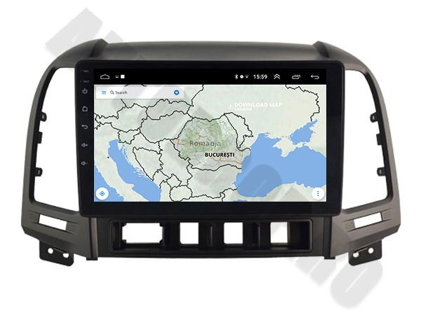 Navigatie Hyundai Santa Fe Android 1+16GB   AutoDrop.ro 10