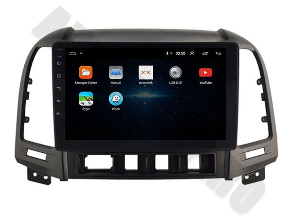 Navigatie Hyundai Santa Fe Android 1+16GB   AutoDrop.ro 3