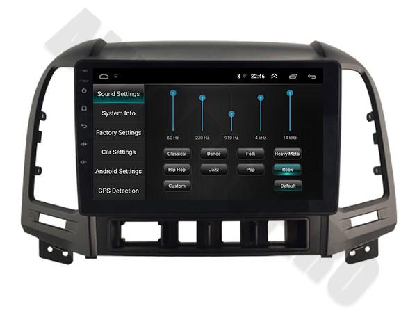 Navigatie Hyundai Santa Fe Android 1+16GB   AutoDrop.ro 4