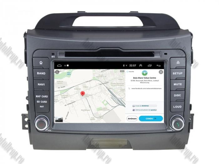 Navigatie Auto Dedicata Kia Sportage 2010-2012 4+64GB 13