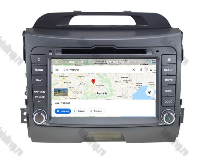 Navigatie Auto Dedicata Kia Sportage 2010-2012 4+64GB 11