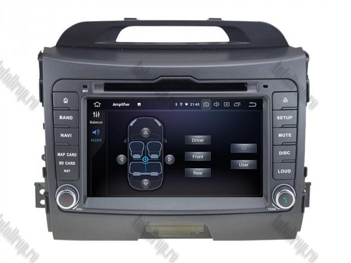 Navigatie Auto Dedicata Kia Sportage 2010-2012 4+64GB 6