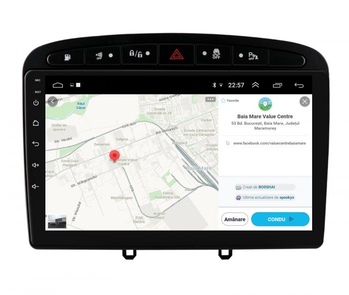 Navigatie Android Peugeot 308/408   AutoDrop.ro [9]