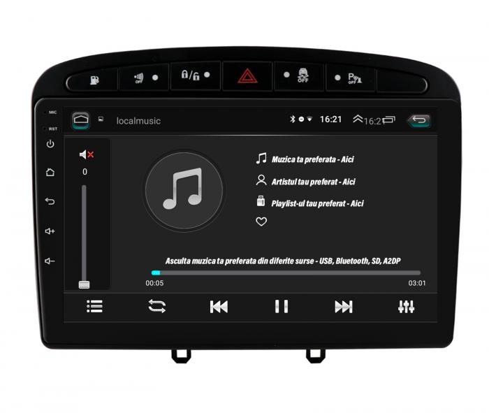 Navigatie Android Peugeot 308/408 2GB   AutoDrop.ro [5]
