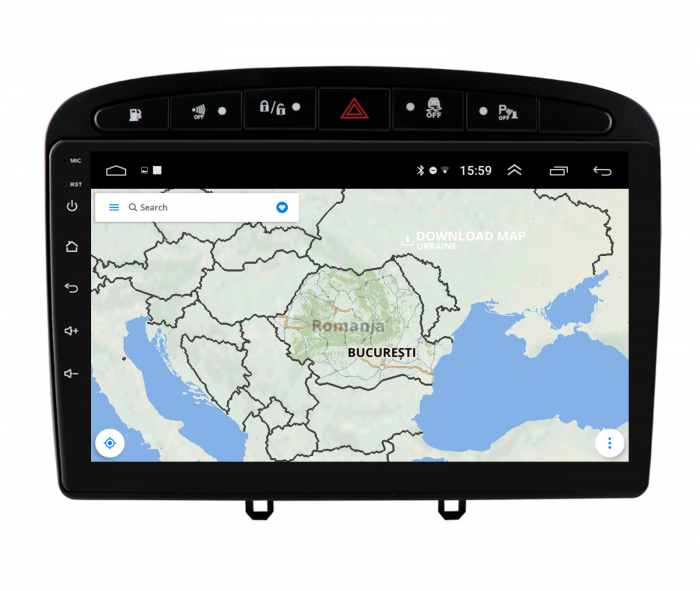 Navigatie Android Peugeot 308/408   AutoDrop.ro [12]