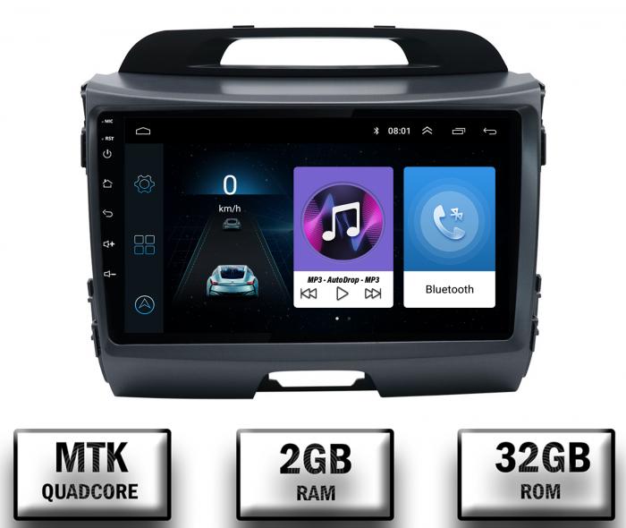Navigatie Android Kia Sportage 2010-2016 2GB | AutoDrop.ro [0]