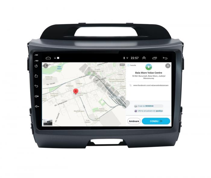 Navigatie Android Kia Sportage 2010-2016 2GB | AutoDrop.ro [9]