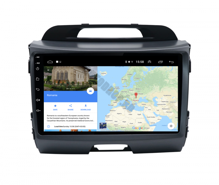 Navigatie Android Kia Sportage 2010-2016 | AutoDrop.ro [11]