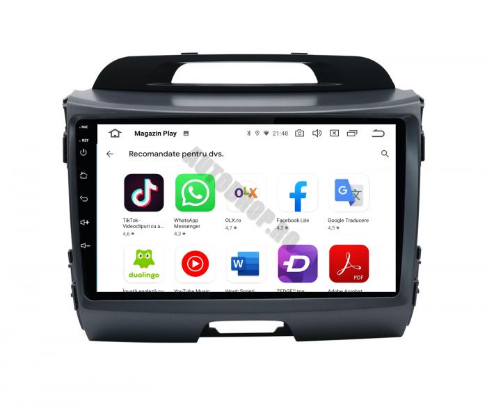 Navigatie Android Kia Sportage 2010-2016 2GB | AutoDrop.ro [13]