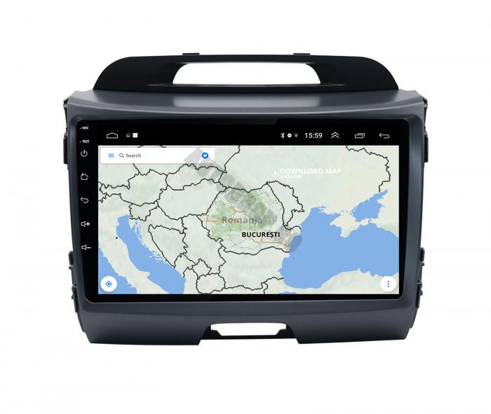 Navigatie Android Kia Sportage 2010-2016 2GB | AutoDrop.ro [12]