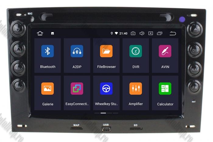 Navigatie Dedicata Renault Megane 2 Android | AutoDrop.ro 1