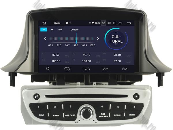Navigatie Dedicata Renault Megane 3 Octacore Gri | AutoDrop.ro 4