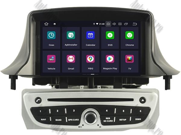 Navigatie Dedicata Renault Megane 3 Quadcore Gri | AutoDrop.ro 2