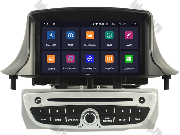 Navigatie Dedicata Renault Megane 3 Octacore Gri | AutoDrop.ro 1
