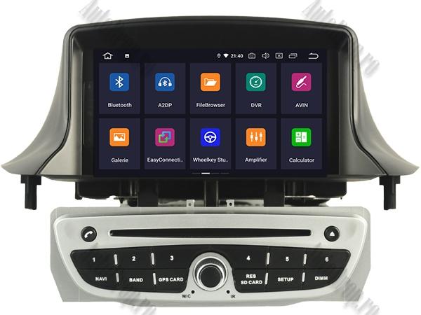 Navigatie Dedicata Renault Megane 3 Quadcore Gri | AutoDrop.ro 1