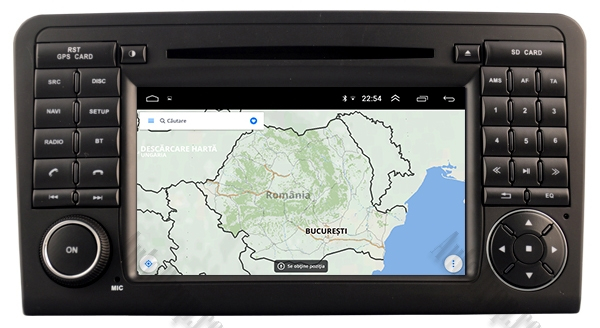 Navigatie Auto Mercedes Benz ML W164 - GL X164 | 4+64GB 11
