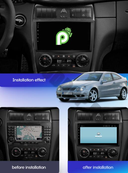 Navigatie Mercedes C-Class W203 2004-2011 | AutoDrop.ro [21]